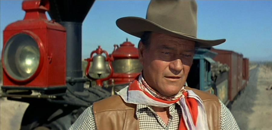 John Wayne In McLintock