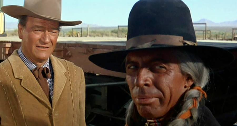 John Wayne And Native American