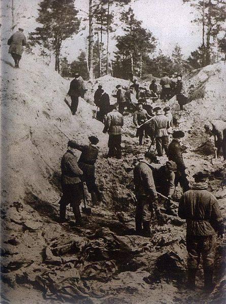 Katyn Massacre 1943 Exhumation Diggers