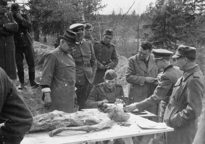 Katyn Massacre 1943 Exhumation Exam
