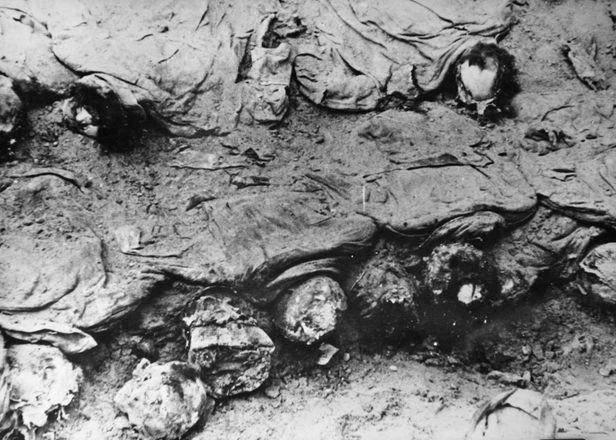 Katyn Massacre Corpses 2