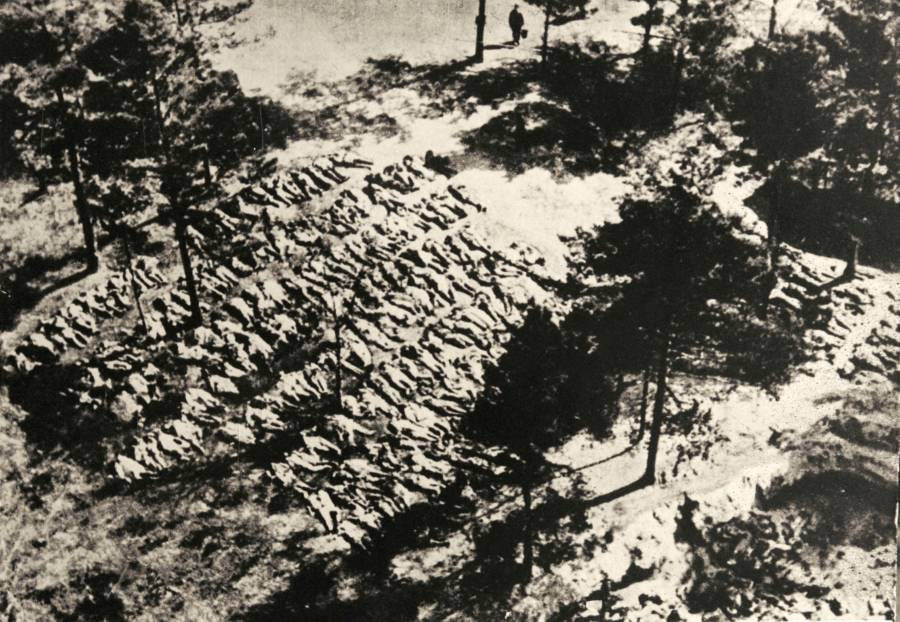 Katyn Massacre Mass Grave