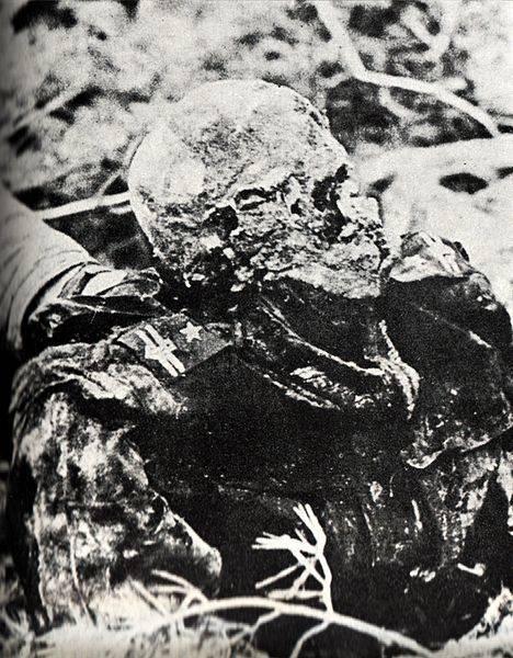 Katyn Massacre Skull