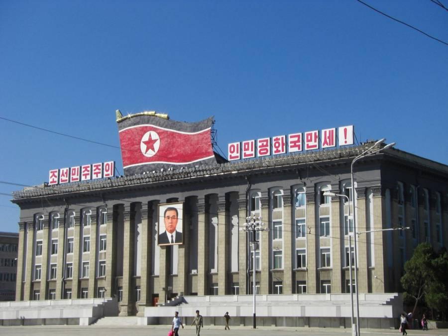 Kim Il Sung Square Pyongyang Building