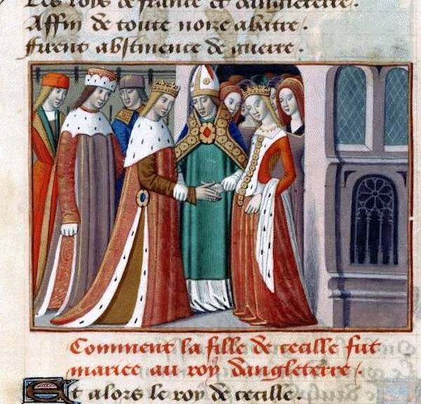 King Henry Vi And Margaret Of Anjou Getting Married