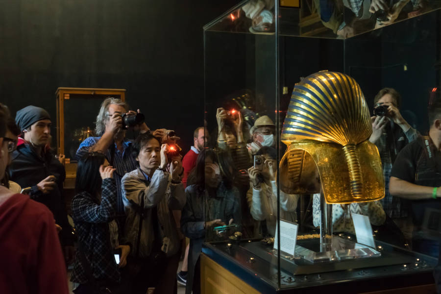 King Tut Mask Back