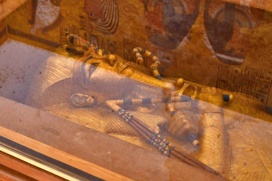 King Tut Sarcophagus Conservation