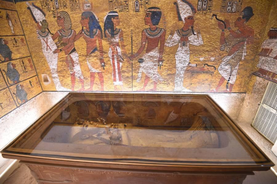 King Tut Tomb Underground Chamber