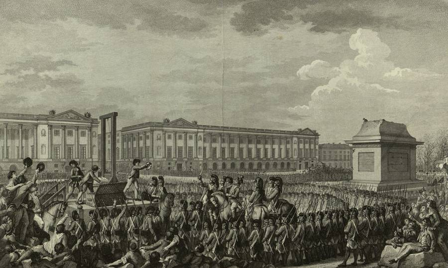 Louis Xvi Execution Illustration