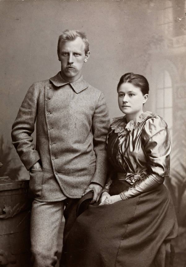 Fridtjof Nansen And Eva Sars