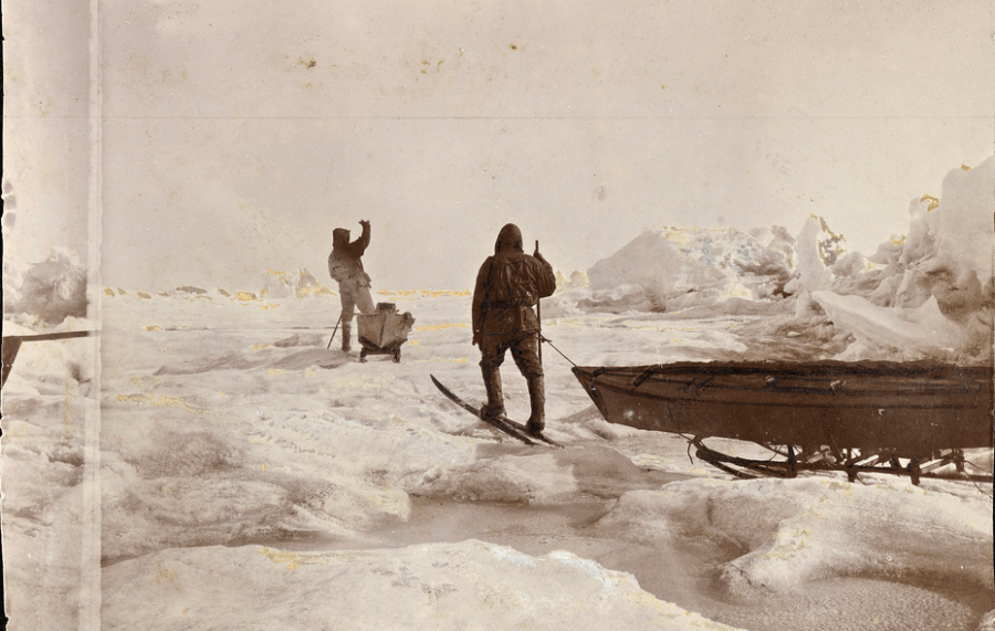 Fridtjof Nansen In The Arctic