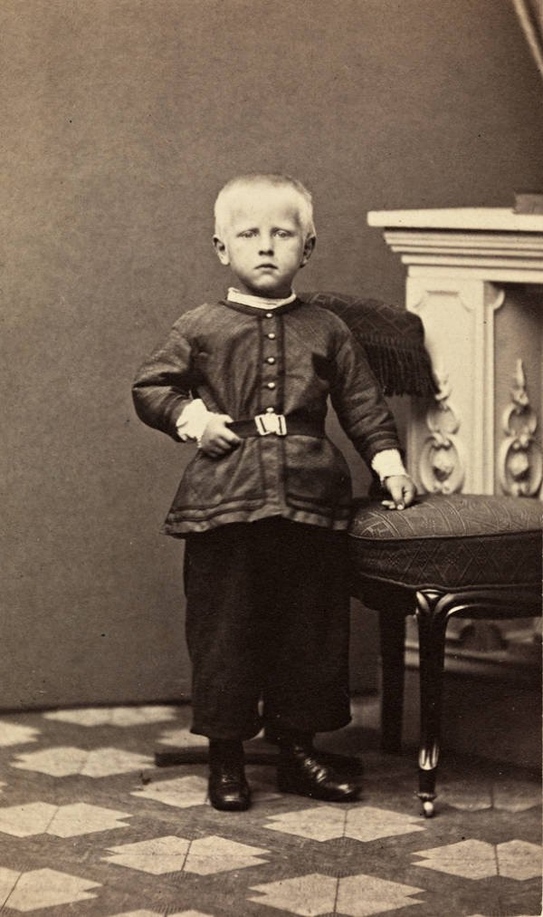 Fridtjof Nansen As A Child