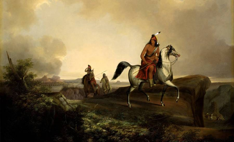 Native Americans Hunting