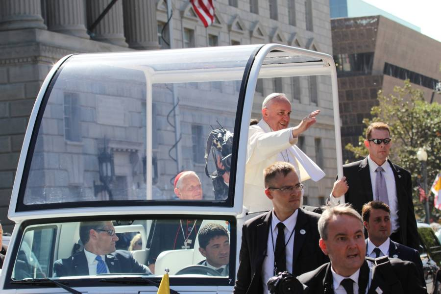 Pope Francis Washington Dc