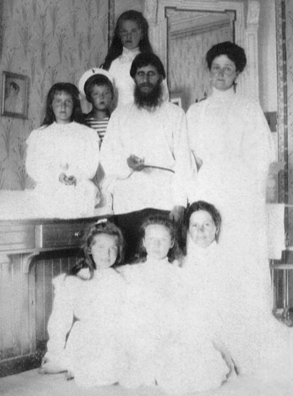 Rasputin With The Romanov Children