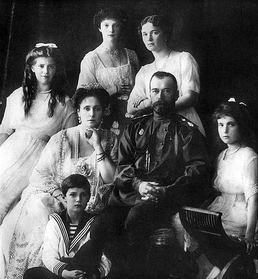 Tatiana Romanov And Family