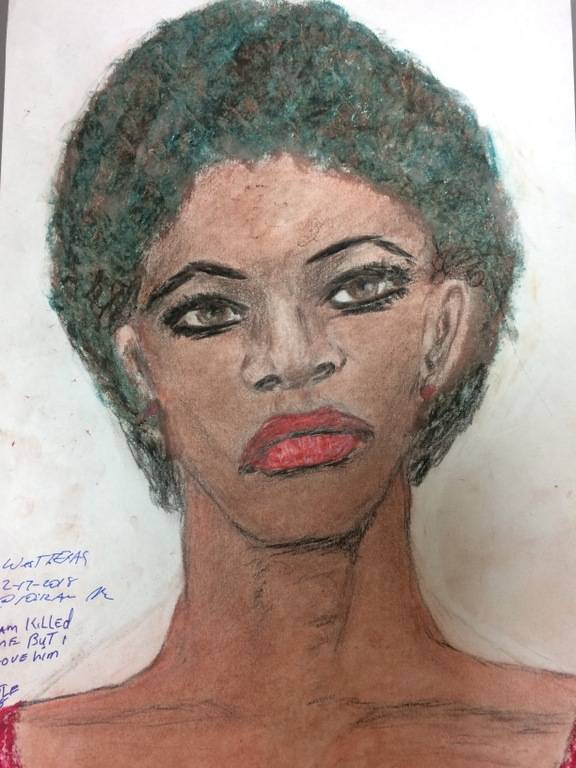 Samuel Little Drawing Black Female Victim From Texas In 1976 1977