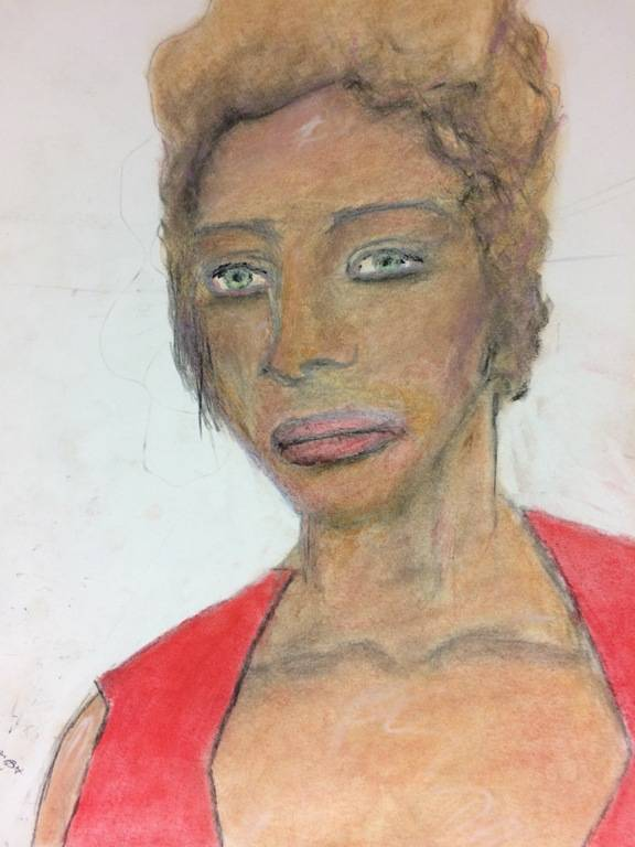 Samuel Little Drawing Hispanic Female Victim Froom Phoenix In 1988 1996