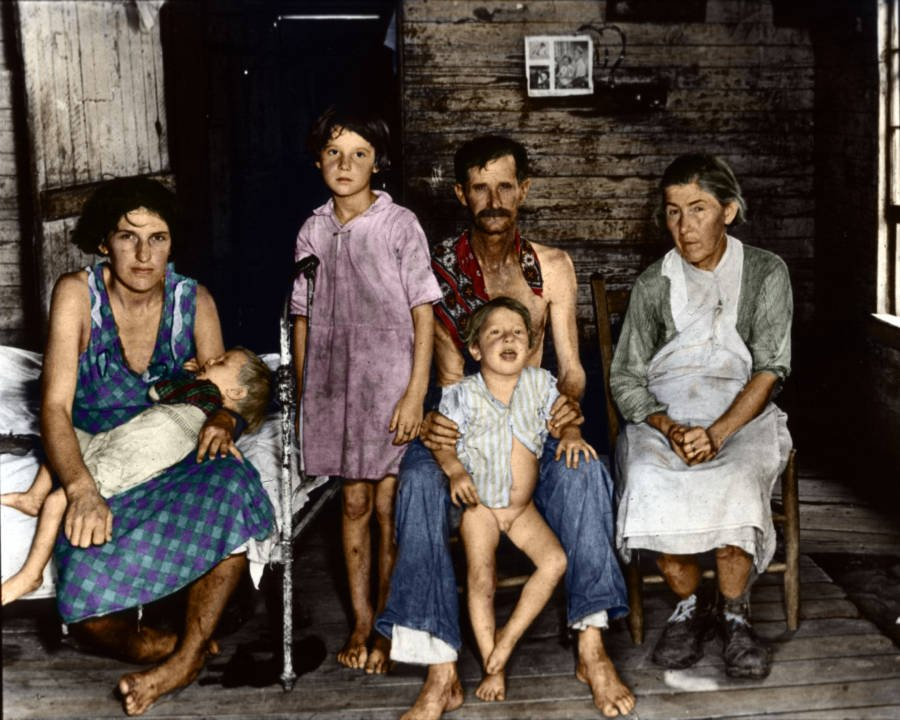 Sharecroppers During The Depression