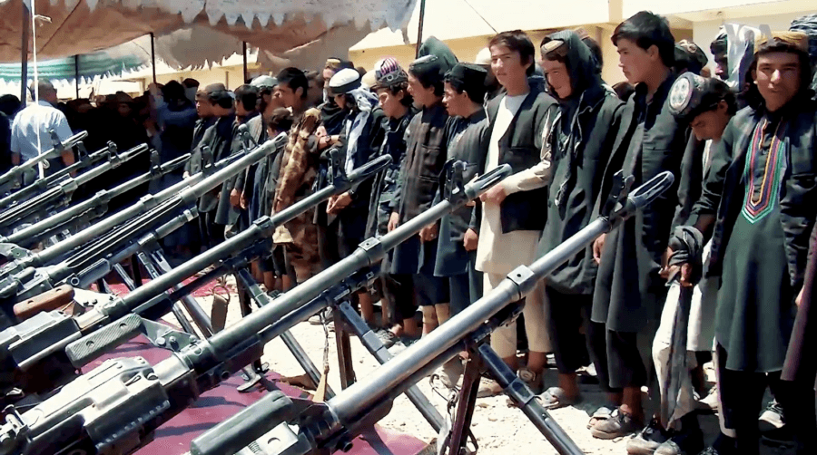 Surrendering ISIS Fighters In Afghanistan