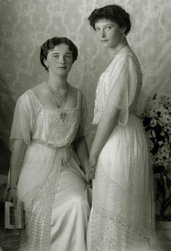 Tatiana And Olga Romanov