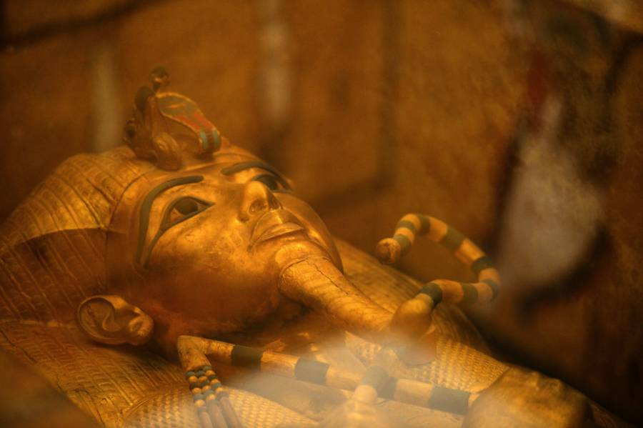 Tut Golden Sarcophagus