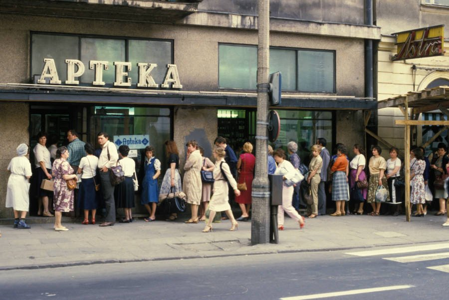 Warsaw Pharmacy After Chernobyl