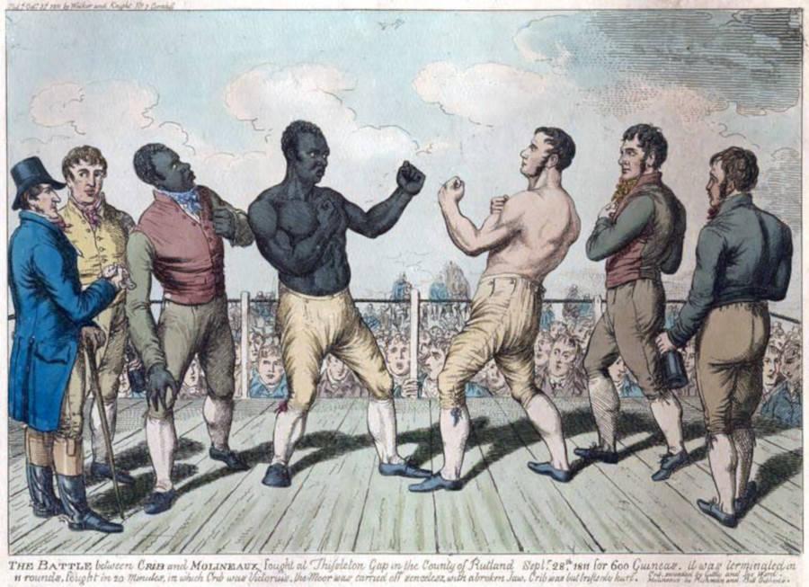 Cribb Vs. Molineaux 1811