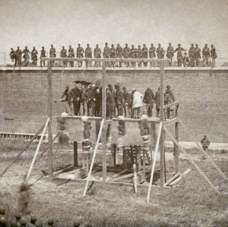 Lincoln Conspirators Execution