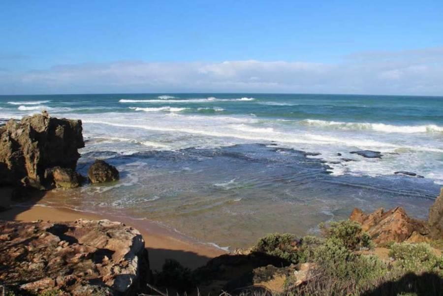 Blackened Stones At Moyjil Australia