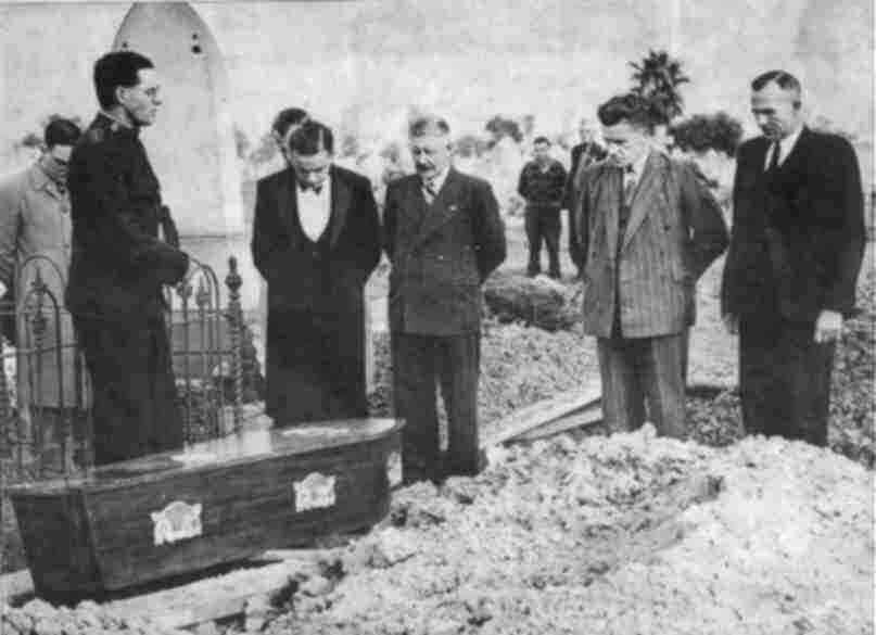 Burying The Somerton Man