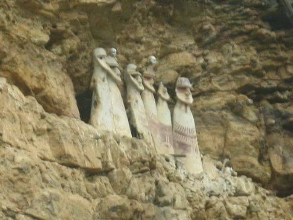 Sarcophagi Of Chachapoyas People