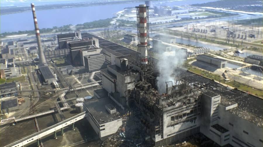 Chernobyl Sarcophagus Melting