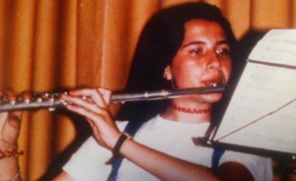 Emanuela Orlandi Playing The Flute