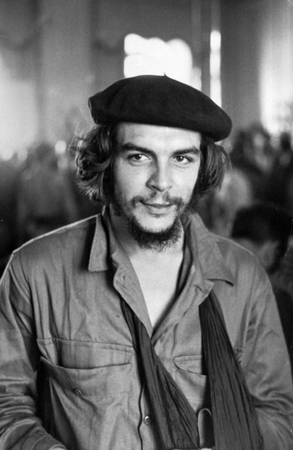 Portrait Revolutionary Ernesto Che Guevara
