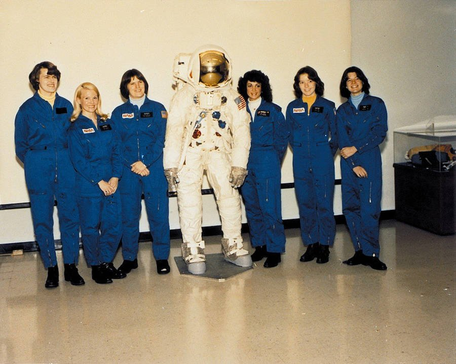 First Female Astronaut Class