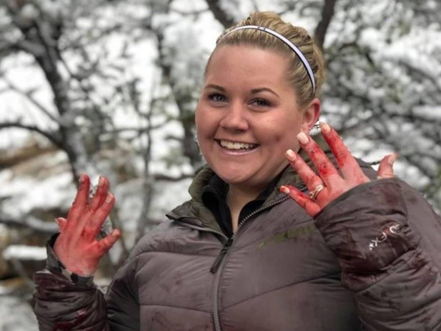 Franchesca Esplin Bloody Hands