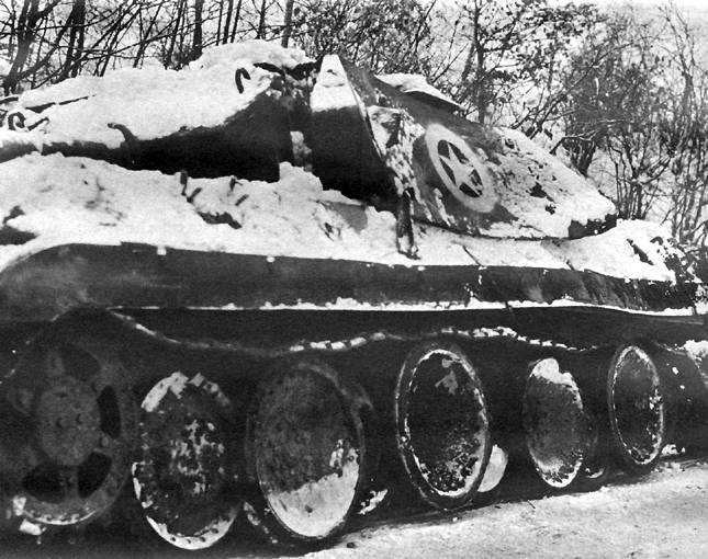 German Tank Disguised