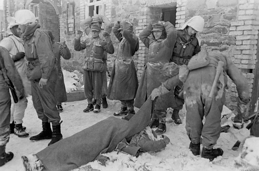 Germans Surrender