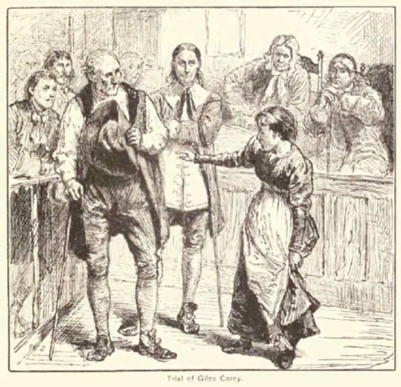 Giles Corey Trial