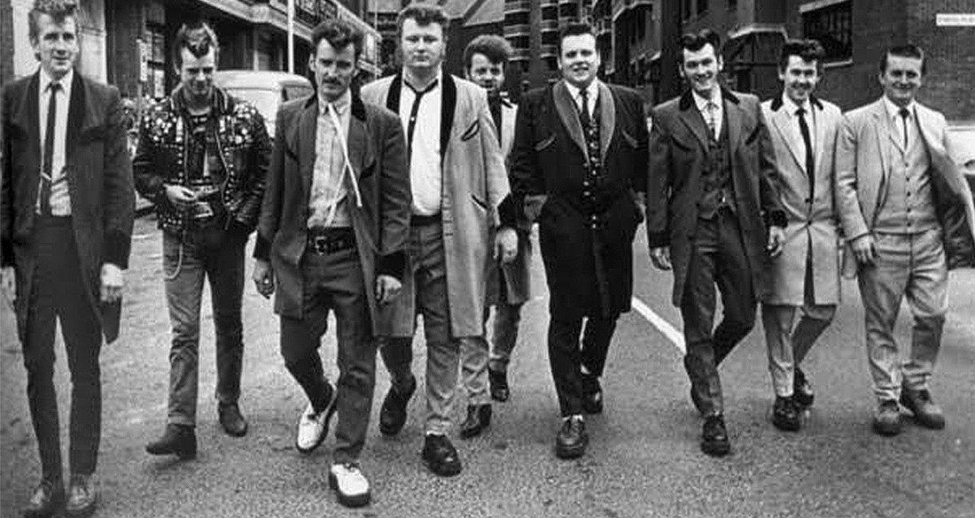 Admirable Teddy Boy Terror The British Subculture That Invented Teen Angst Natural Hairstyles Runnerswayorg