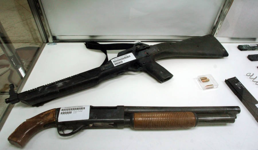 Guns Used In Columbine Shooting