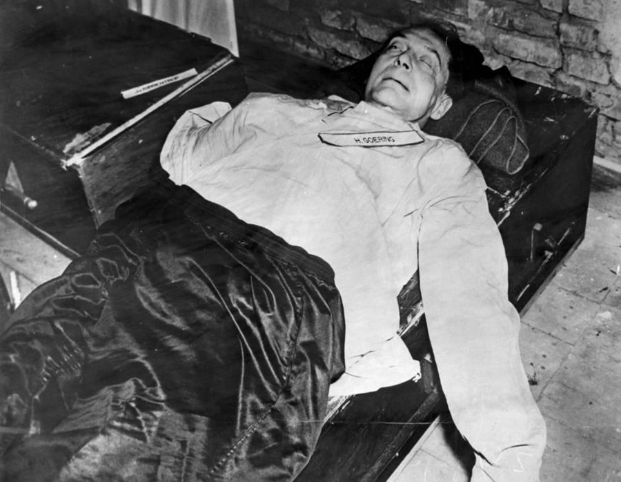 Herman Goering Dead