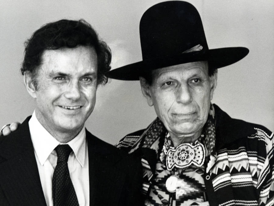 Iron Eyes With Cliff Robertson