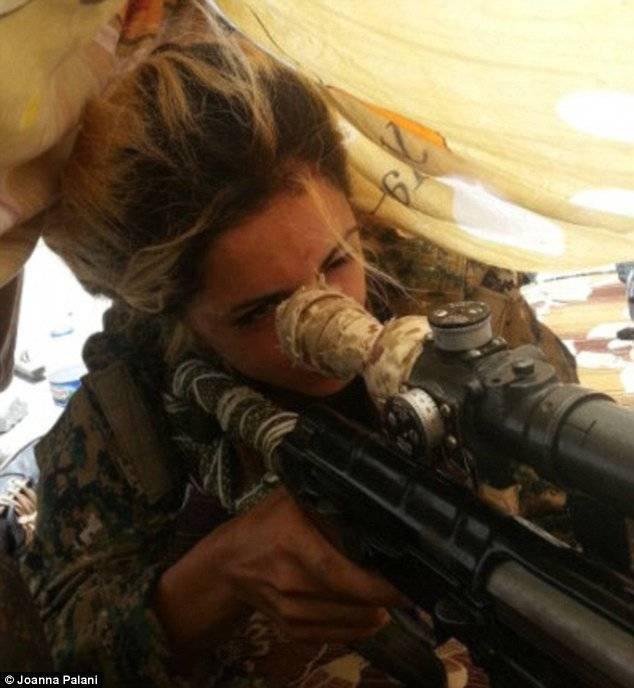 Joanna Palani Sniper Rifle