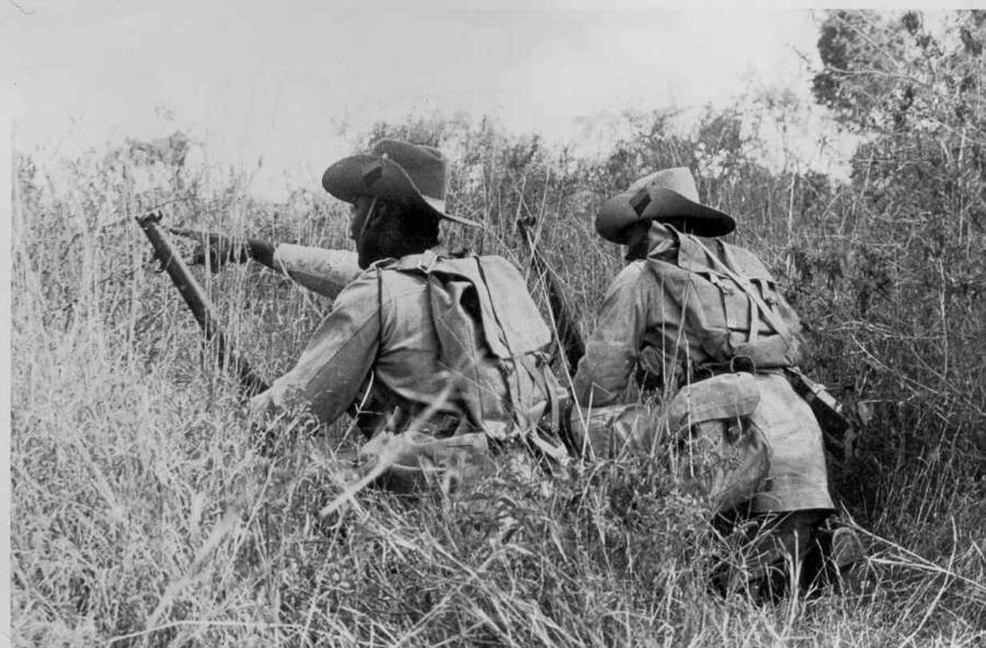 Kings African Rifles In Kenya