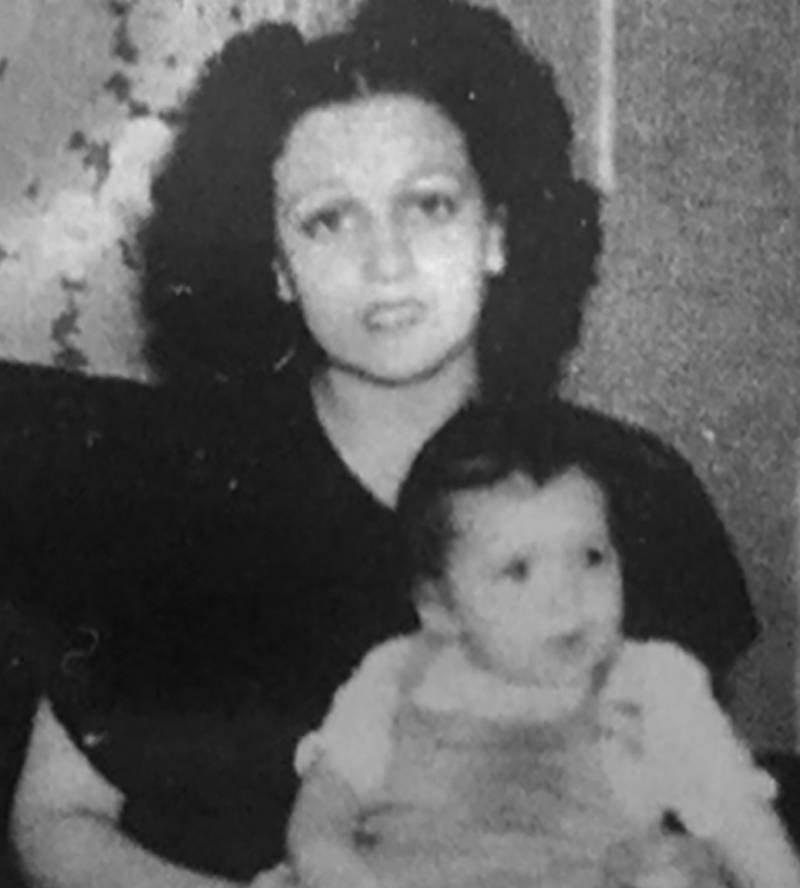 Mary Arcuri With Child