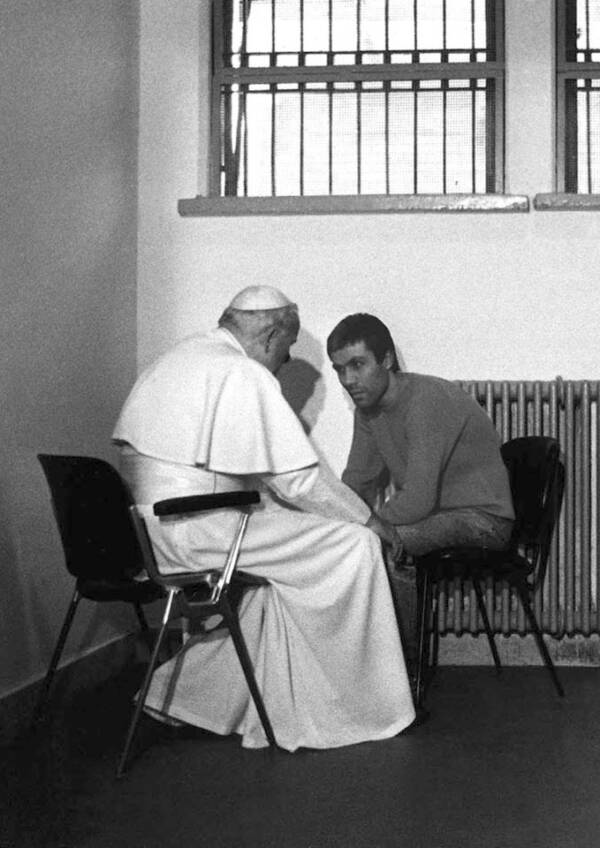 Mehmet Ali Ağca With The Pope