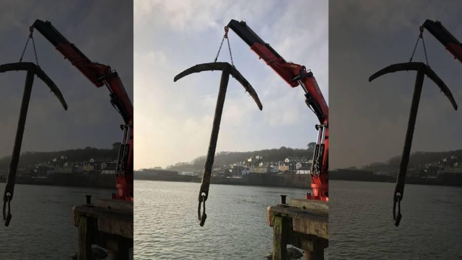Anchor Found From Merchant Royal Shipwreck Worth $1 3 Billion