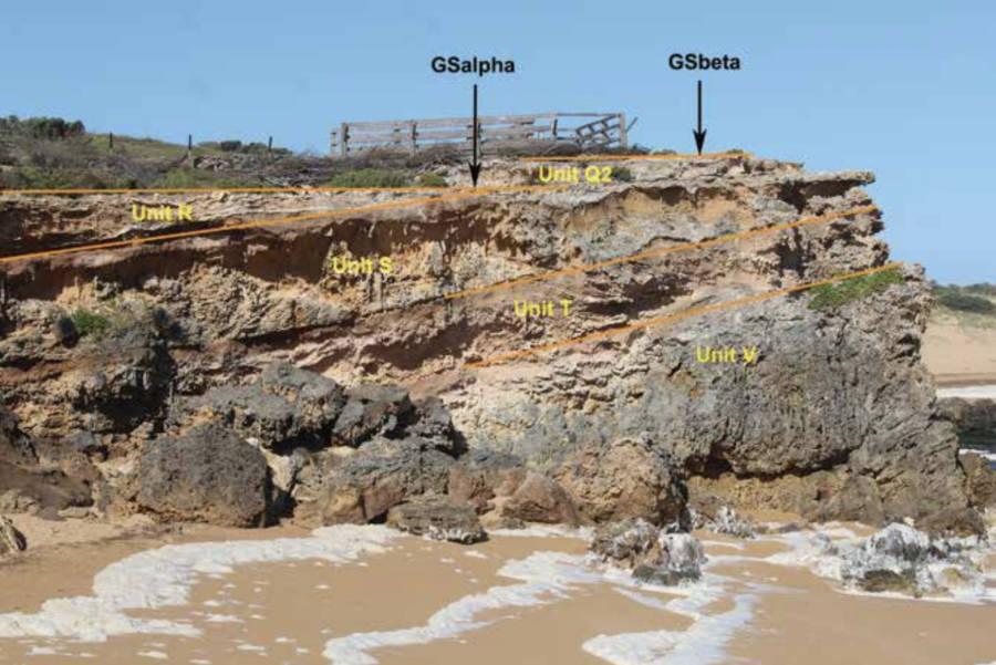 Moyjil Stones Stratigraphic Units